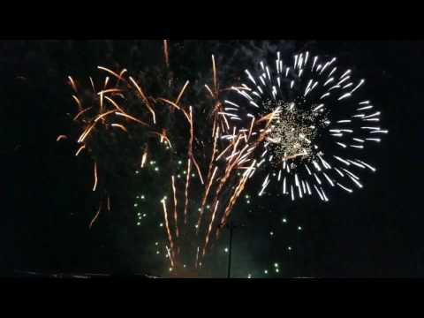 White City Kansas Fireworks 2017