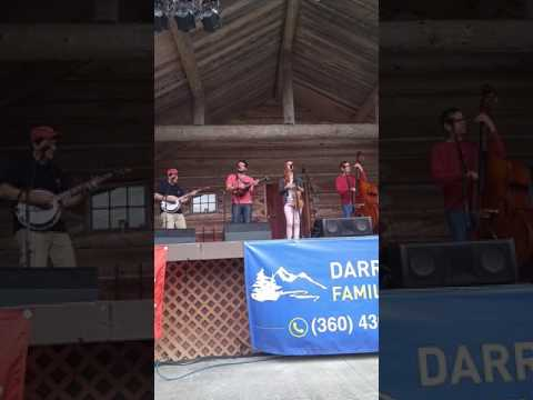 Nick Dumas and band at Open Mic at the Darrington Bluegrass Festival on 7/23/2017