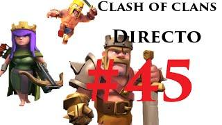 COC - #45 - clash of clans - farmeando y guerra de clanes