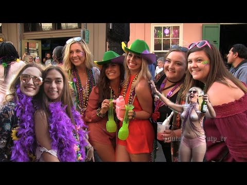 Mardi Gras Party on Bourbon P1 2017