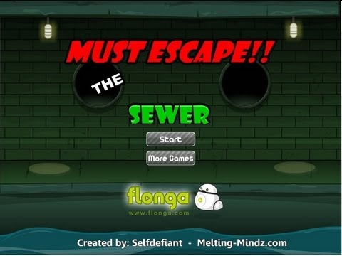 Must Escape the Sewer!