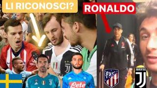 Gli SVEDESI conoscono i calciatori ITALIANI? *Foto con RONALDO!*