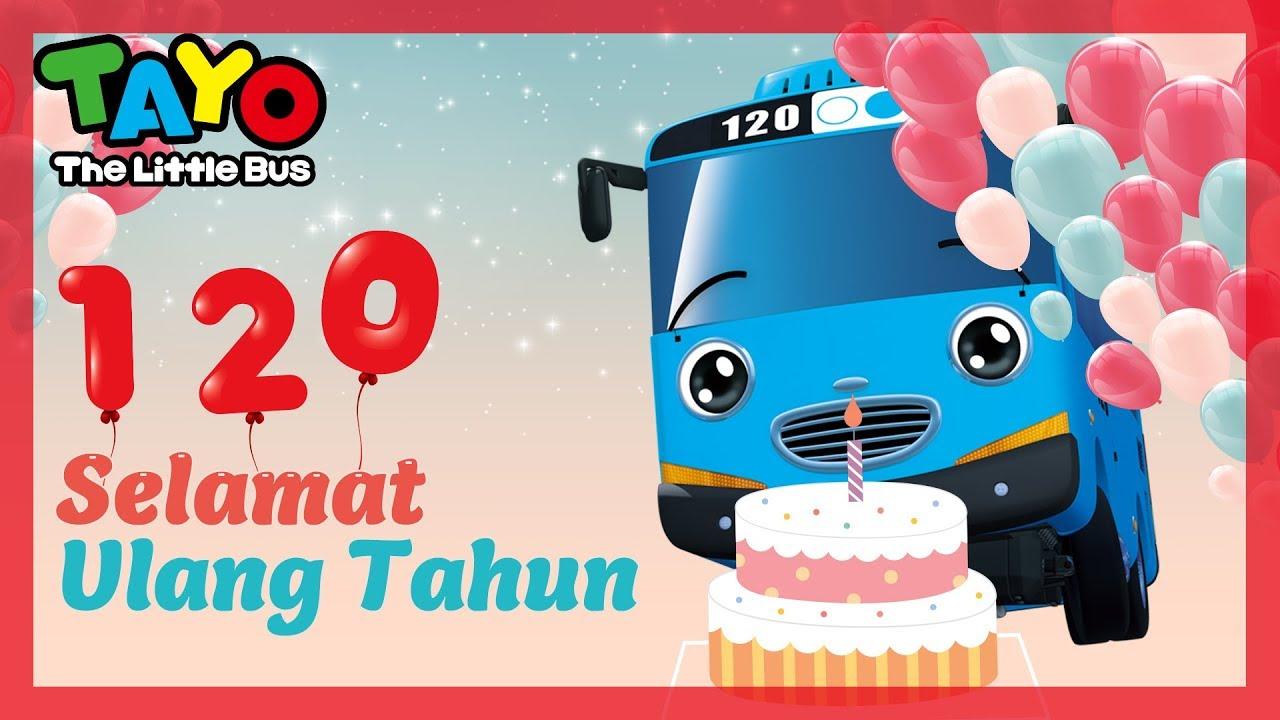 Selamat Ulang Tahun Lagu Anak L Tayo Selamat Ulang Tahun L Happy