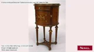 French Antique Bedside Table/commode Louis Xiv Tables For