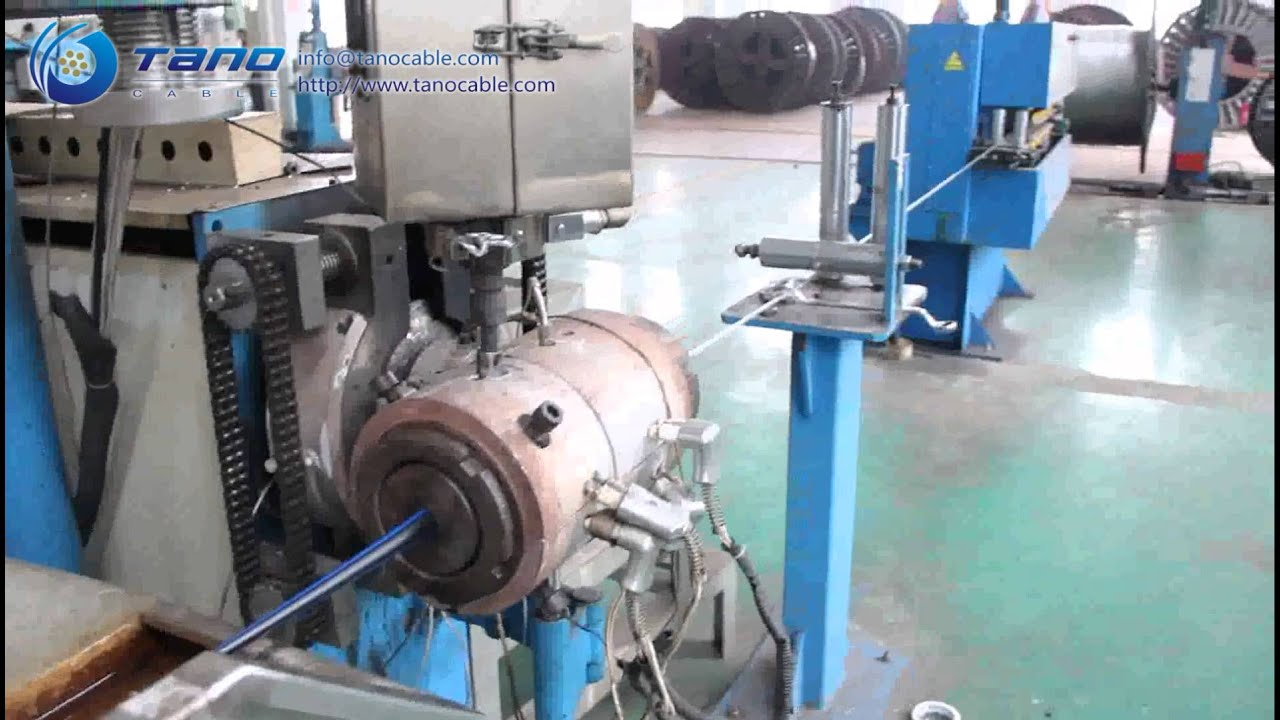 Tano Cable Manufacturing Process Insulation Extrusion