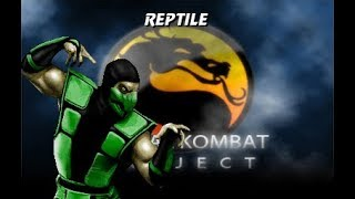 MKP 4.1 Season 2.9 (MUGEN) - Reptile (MKX) Playthrough