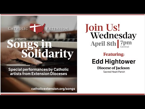 Songs in Solidarity: Catholic artists from Extension Dioceses