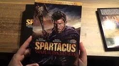 DVD Unboxing: Spartacus 1-4 Komplett uncut aus Österreich