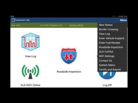 Android™ Unassigned ELD Events - KellerMobile® ELD