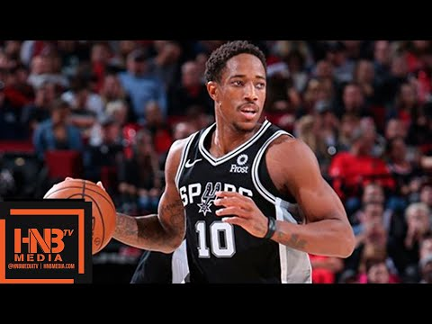 San Antonio Spurs vs Portland Trail Blazers Full Game Highlights | 10.20.2018, NBA Season