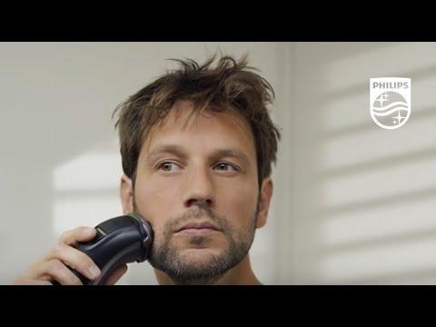 Nueva afeitadora Philips Serie 3000: cómo afeitar en seco