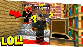So I trolled a Minecraft YouTuber with a button...