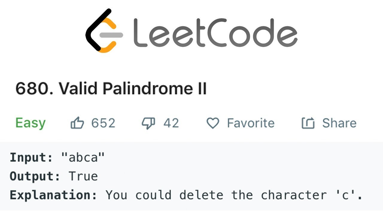 HackerRank Valid Palindrome II Solution Explained - Java