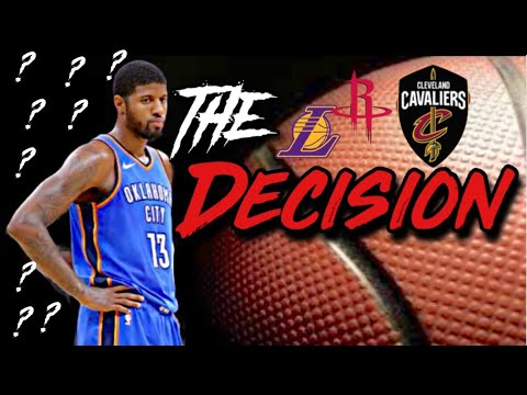 Leaving Okc? The BEST CHOICE For Paul George this OFFSEASON