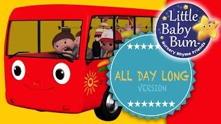 Wheels On The Bus | Part 2 | All Day Long Version | Nursery Rhymes | From LittleBabyBum