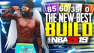 My NEW Build Is Over Powered! BEST BUILD THAT DOESN'T NEED BADGES! BEST BUILD IN NBA 2K19!