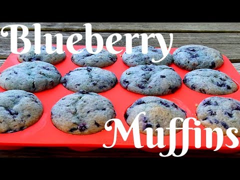 How to Make Blueberry Muffins Easy (DELICIOUS) Homemade Recipe 2019