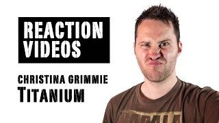 Me Singing Titanium by David Guetta feat. Sia - Christina Grimmie Cover | REACTION