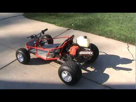 Gas Powered Razor Dune Buggy Youtube