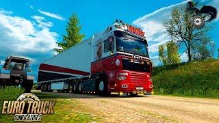 ETS2 1 32 - Promods 2 31 - DAF XF105 - Split to Rijeka - DarkExplorer64