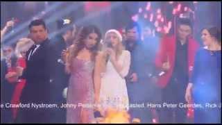 Новогодняя ночь на Первом 2015 - Участники шоу Голос финальная песня