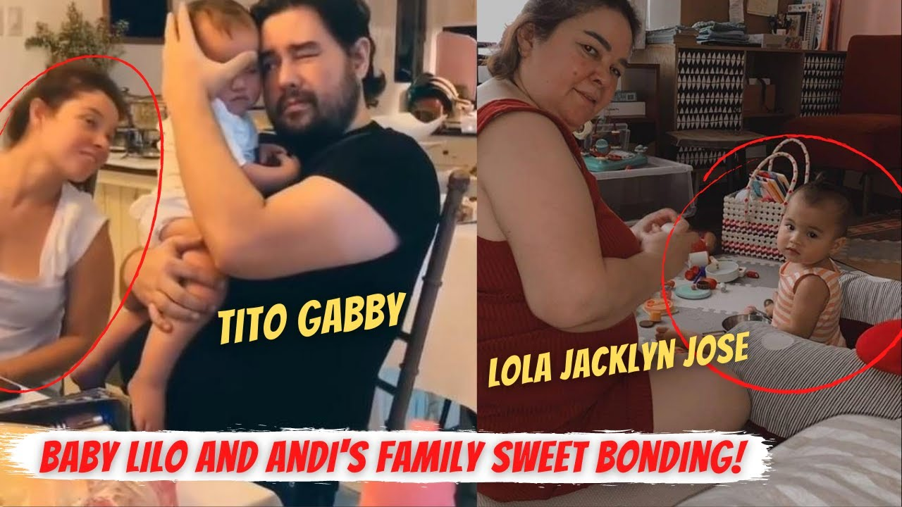🎯BABY LILO SPENDS TIME with TITO GABBY EIGENMANN I PAMILYA ni ANDI SOBRANG ENJOY kay LILO!