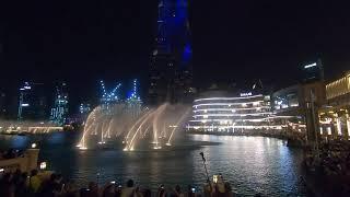 Dubai Fountain Show | Hero (Spanish) by Enrique Iglesias