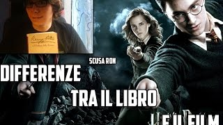 Harry Potter e l'Ordine della Fenice Differenze tra il film e il libro