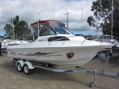 Yalta Craft 615 Odessa , Fiberglass allround family / fishing boat at John Crawford Marine