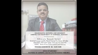 Role of Law Enforcement and Policing - Webinar Series