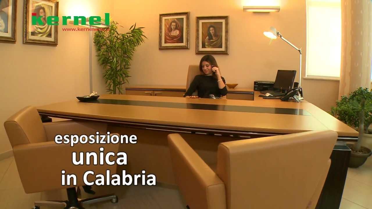 Mobili Per Ufficio Reggio Calabria : Kernel srl promo dello showroom per l arredo d ufficio youtube