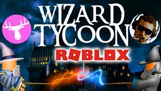 THE BEST SORCERERS! -Roblox Wizard Tycoon 2 Player English Ep 1 with the Manous Moose