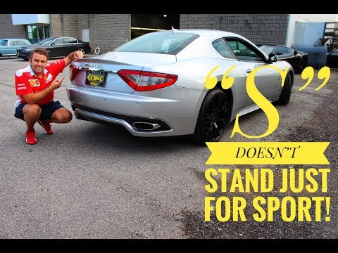 MASERATI GRANTURISMO S COUPE   S DOESNT STAND JUST FOR SPORT