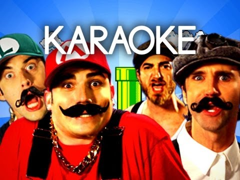 [KARAOKE ♫] Mario Bros vs Wright Bros. Epic Rap Battles of H