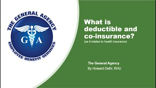 Health Insurance Deductible Explained - Health Insurance: Understanding Deductibles And Coinsurance