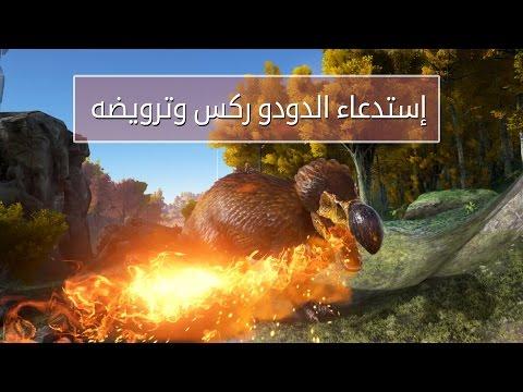 [ح 20 ] أرك سرفايفل افولفد إستدعاء الدودو ركس والتحكم به   ARK: Survival Evolved #20