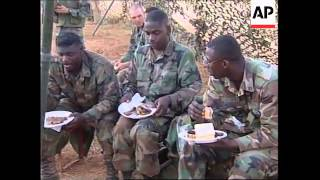 KOSOVO: US TROOPS CELEBRATE INDEPENDENCE DAY