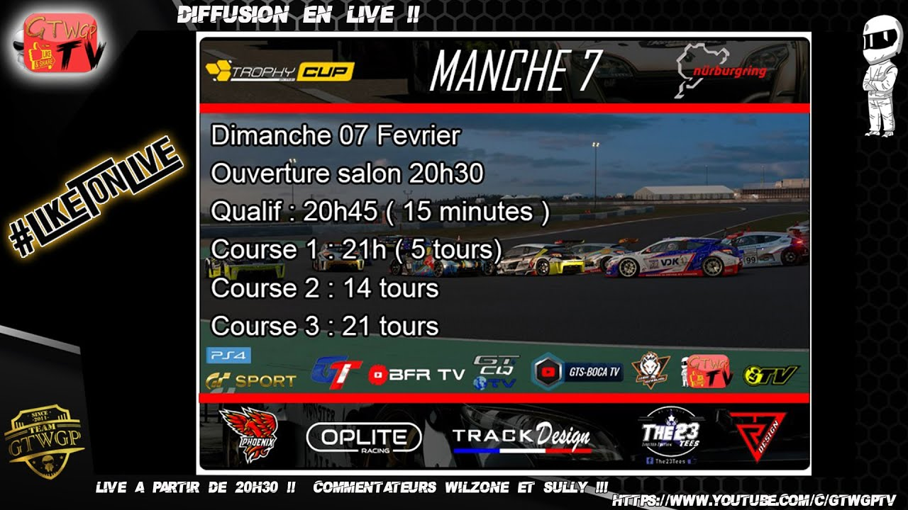 Trophy Cup Manche 7 Pool F