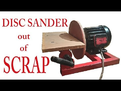 SIMPLE and CHEAP ; Disc Sander out of SCRAP ; Diy