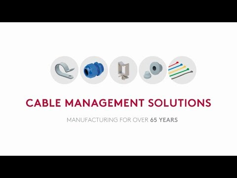 Industrial Wire and Cable Management - Essentra - YouTube