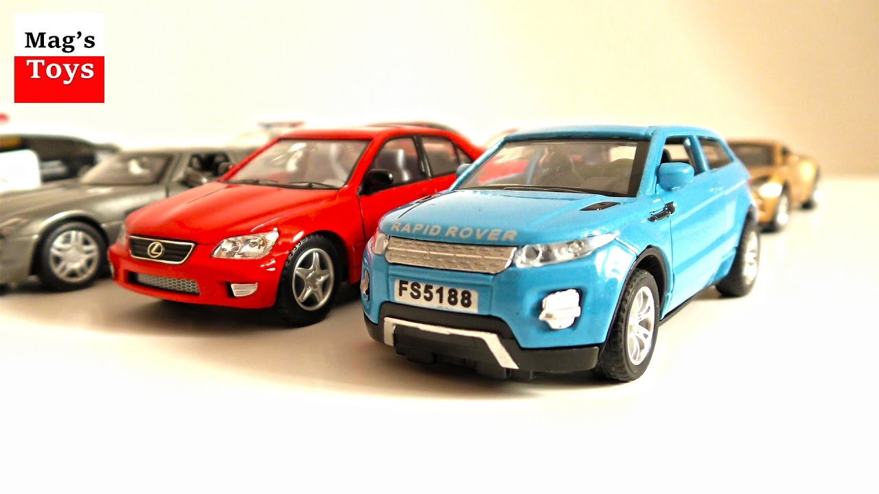 new cars for children toy cars video for little kids