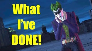 Vigilante Joker Killing Batman Accidentally - The Enemy Within Episode 5 Same Stitch