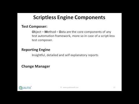 Copy of Making Selenium a scriptless test execution engine