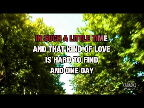 The Love He Left Behind in the style of Chely Wright | Karaoke with Lyrics