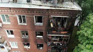 Временное жилье предоставят эвакуированным при пожаре на западе Москвы.