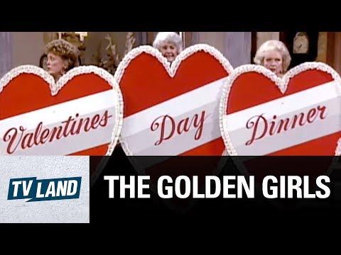 Butt Naked Valentine's Day | The Golden Girls | TV Land