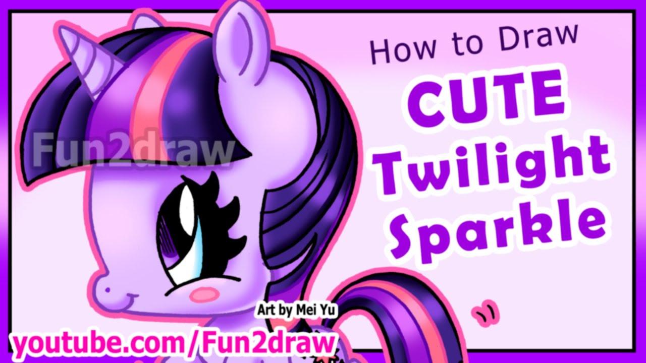 How To Draw A Pony Youtube