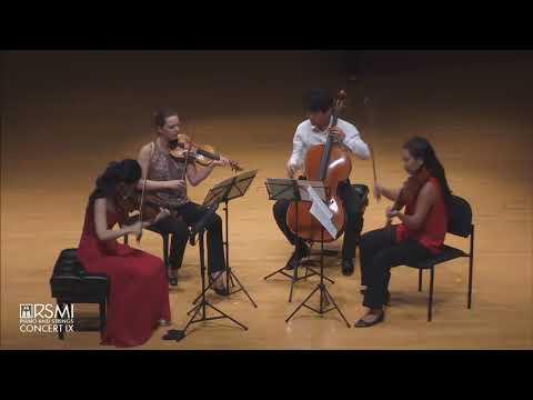 Mendelssohn String Quartet Op. 44 No. 1 in D Major Mvt  I