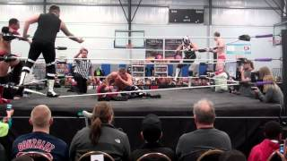 NEFW Six Man Tag Team Match/AfterMatch Promo-Second Phrase-Formation Of RUN