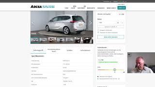 Авто из Голландии. Купили на аукционе лизинговый Opel Zafira 1.6 CDTI Cosmo 2015 года
